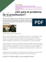 Alternativas de Solucion Prostitucion