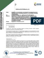 CIRCULAR EXTERNA N°04 SUPERSOLIDARIA - SARLAFT