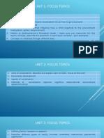 Units 1-5 (Focus Topics)