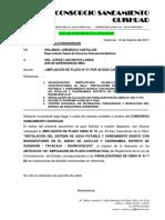Carta Nª 017 - Ampliacion