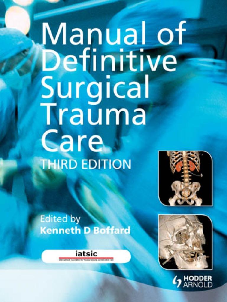 manual of dstc blood transfusion major trauma