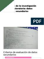 Diseño de La Investigación Exploratoria.pptx-Inteligencia de Mercados