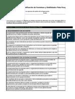 Modelo de Encuesta FODA