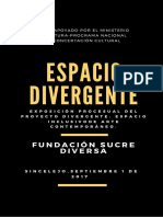Catalogo Exposición Espacio Divergente