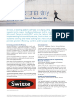 Microsoft Dynamics Swisse Client Story