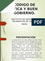 Código Ética Ente Deportivo Caldas (LIC. OSCAR ALEXANDER ESCOBAR)