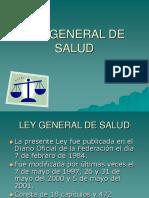 Ley General de Salud MEXICANA
