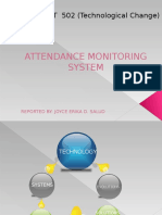 62805039 Attendance Monitoring System