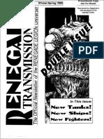 Renegade Transmissions #3, #4