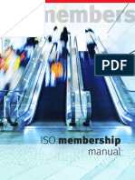 Iso Membership Manual