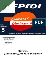 Repsol Ypf Quien Es y Que Hace en Bolivia Pres