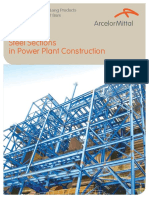 Steel Sections in Power Plant Construction