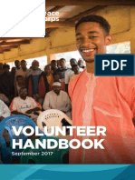 Peace Corps Volunteer Handbook 2017