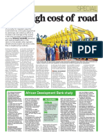 Why high cost of road projects?