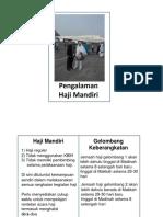 Pengalaman Haji Mandiri 1435H - 2014
