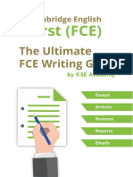 FCE Writing Guide Sample [PDF]