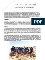 Greece Monthly Achievement Report June 2017