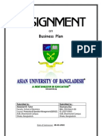 Assignment on Business Plan