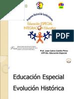 Evolución Histórica de Educación especial