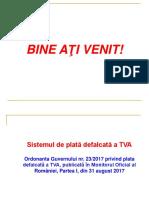 Prezentare Plata Defalcata TVA 7 Sept