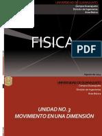 Fisica Unidad 3_ Movimiento en Una Dimension