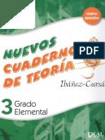 Nuevos Cuadernos de Teoría Grado Elemental 3 Ibánez-Cursá Parte 1