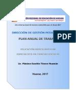 PLAN CC.SS DRE-2017