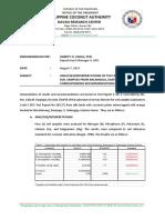 Letter-Fertilizer Recommendations for Balangiga, Eastern Samr-Candelaria Apika-Payot