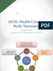 MOSL Wealth Creation Summary
