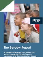 Bercow Report