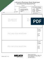 Ankle Brachial Index Assessment Form