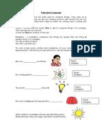 Diff Worksheet