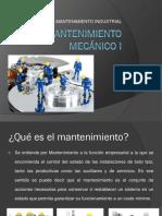 1.- Mantenimiento Mecanico i