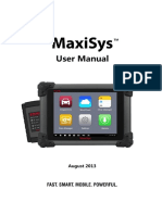 MaxiSys Usermanual - V1.00