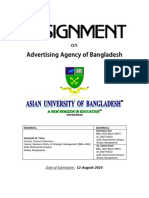 Assignment on Ad Agency of Bangladesh