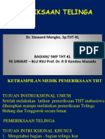 8. Pemeriksaan Pendengaran Keseimbangan Dr. Steward