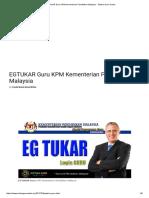 EGTUKAR Guru KPM Kementerian Pendidikan Malaysia - Sistem Guru Online.pdf