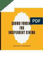 CROWD FUNDING for independent cinema_Kathi Mahesh