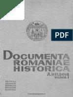 A, 1, Documenta Romaniae Historica, Moldova, 1384-1448