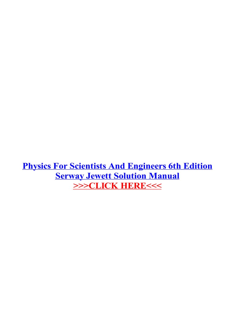 1pdf physics for scientists and engineers 6th edition serway 1pdf physics for scientists and engineers 6th edition serway engineering science and technology fandeluxe Choice Image