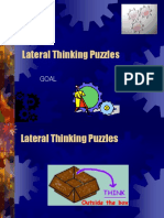 GOAL Lateral Thinking Puzzles