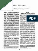 D-chiro-Inositol Metabolism in Diabetes Mellitus