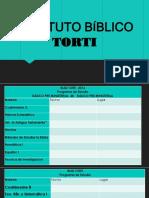 INSTITUTO BÍBLICO TORTI