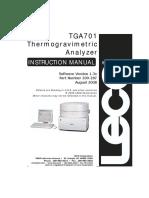 TGA user manual