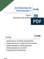 01 Arquitectura de Software