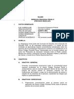 Viii Ciclo 2014 Derecho Procesal Penal II
