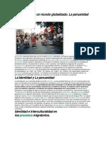 Ser Peruano en Un Mundo Globalizado