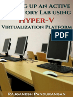 Active Directory Lab HyperV Manual