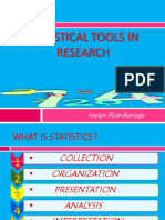 Statistical Tools in Research (June 23,2014)