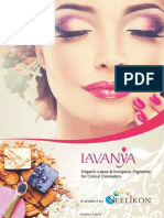 Organic Lakes & Inorganic Pigments for Colour Cosmetics
